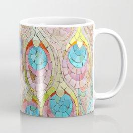 Peacock Pattern Mosaic art Coffee Mug