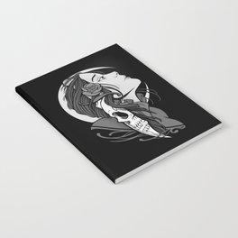 Moon Maiden Notebook