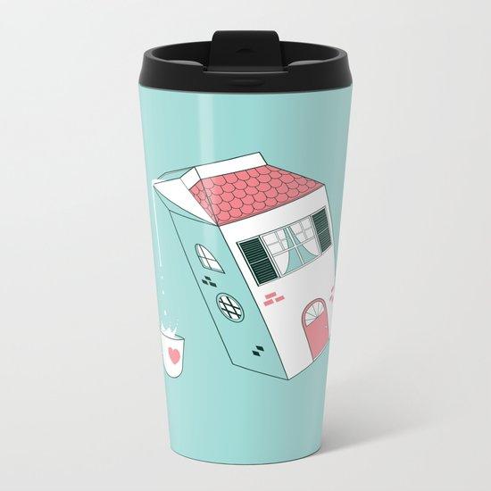 Housepour Metal Travel Mug