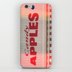 Candy Apples Boardwalk Sign iPhone & iPod Skin