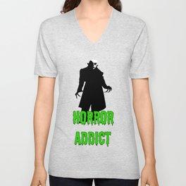Horror Addict Unisex V-Neck