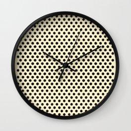 Dots Repeat Dominoes Print Wall Clock