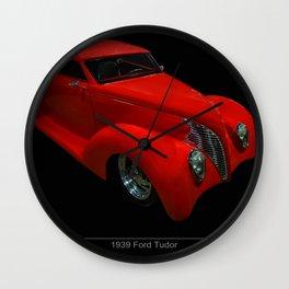 1939 Ford Tudor Wall Clock