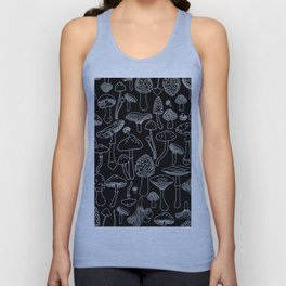 Marcella Mushrooms Unisex Tanktop