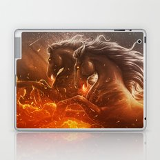 Fire with Horses Laptop & iPad Skin