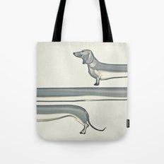 SAUSAGE DOG Tote Bag