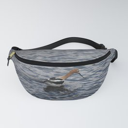 Foraging American Avocet Fanny Pack