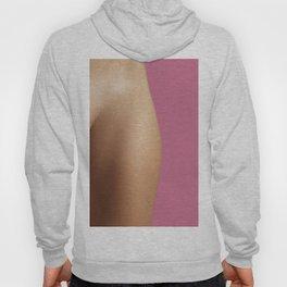 Woman on pink Hoody