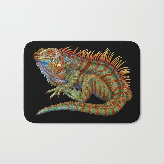 Iguana 2 Bath Mat