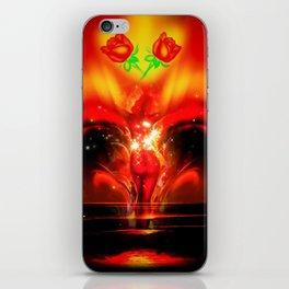 Stars sparkle iPhone Skin