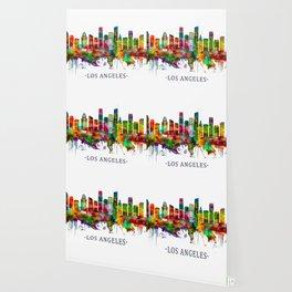 Los Angeles California Skyline Wallpaper