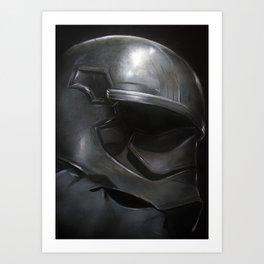 Captain Phasma - Canvas to Print  Art Print