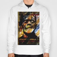frankenstein Hoodies featuring Frankenstein  by BendolaMonster