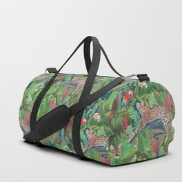 Into the Wild Emerald Forest Duffle Bag
