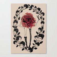The wreath Canvas Print