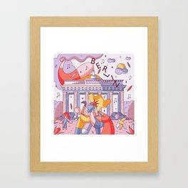 Berlin Framed Art Print