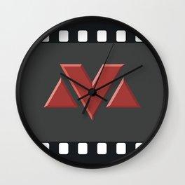 MV Logo Wall Clock