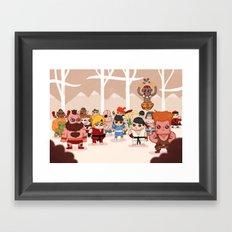 Street Fighters Framed Art Print