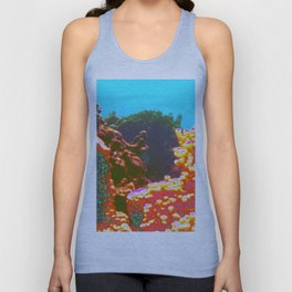 Coral 1965 Style Poster Design Unisex Tank Top