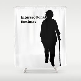 Intersectional Feminist Shower Curtain