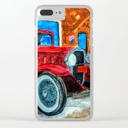 32 Chev in the shop Clear iPhone Case