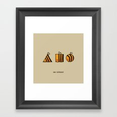 BEE DIFFERENT Framed Art Print