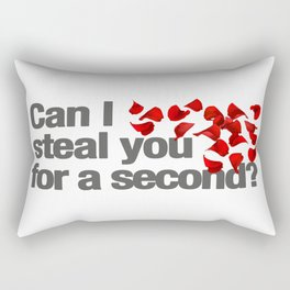Bachelor Can I Steal You For a Second? Rectangular Pillow