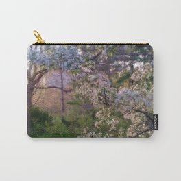Evening Cherry Blossoms Carry-All Pouch