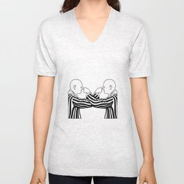 Pointing things out clearly Unisex V-Neck