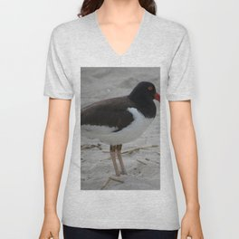 Oyster Catcher at Cape May Unisex V-Neck