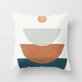 Minimal Shapes No.34 Throw Pillow