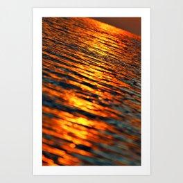 Sunlit Reflections Art Print