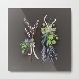 bouquets Metal Print