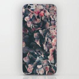 hydrangea - moody blues iPhone Skin