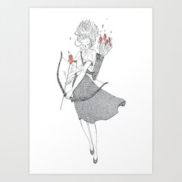 The Rose (June 22 - July 22) Art Print