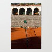 tennis Canvas Prints featuring Tennis by Sébastien BOUVIER