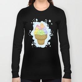 Fluff Sherbert Long Sleeve T-shirt