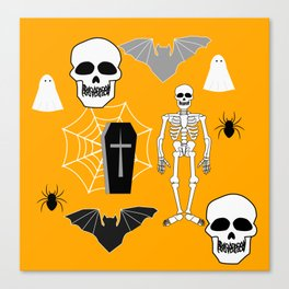 Halloween: Boo crew Canvas Print