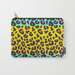 Abstract Leopard Pattern Carry-All Pouch