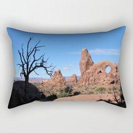 A  Bizarre Rockformation Rectangular Pillow