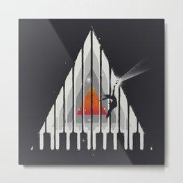 Cosmic Piano Metal Print