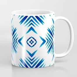 Shibori Blue Watercolour No.15 Coffee Mug
