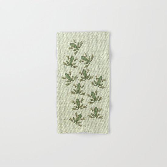 """Coletivo """"Pererecas"""" Hand & Bath Towel"""