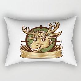 Cartoon Deer mascot  Rectangular Pillow
