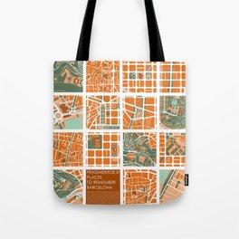 Fagmentos III Barcelona Tote Bag