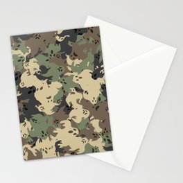 Ghost camouflage Stationery Cards