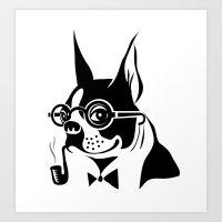 Frenchy Bulldog Art Print