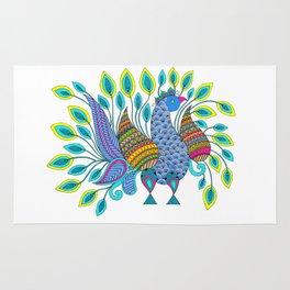 Dancing Peacock Rug
