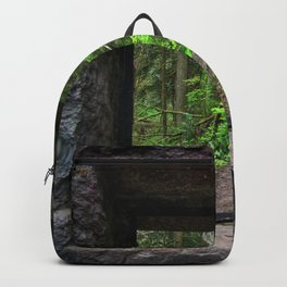 Stone House Window Backpack