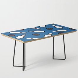 Bowling for Pins Pattern Coffee Table